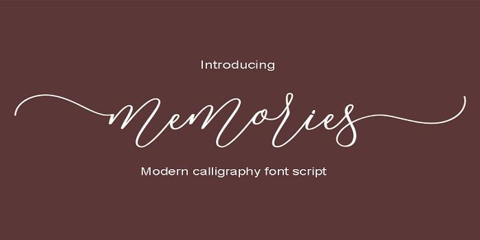Memories Font