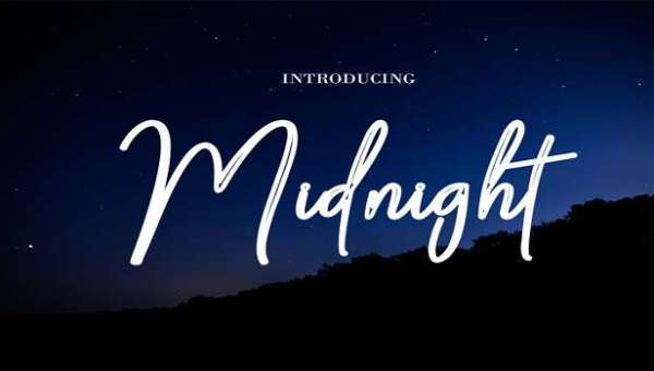 Midnight Font Family