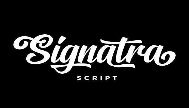 Signatra Font