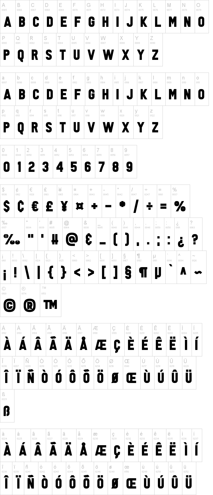 Tabloid Scuzzball Font-1