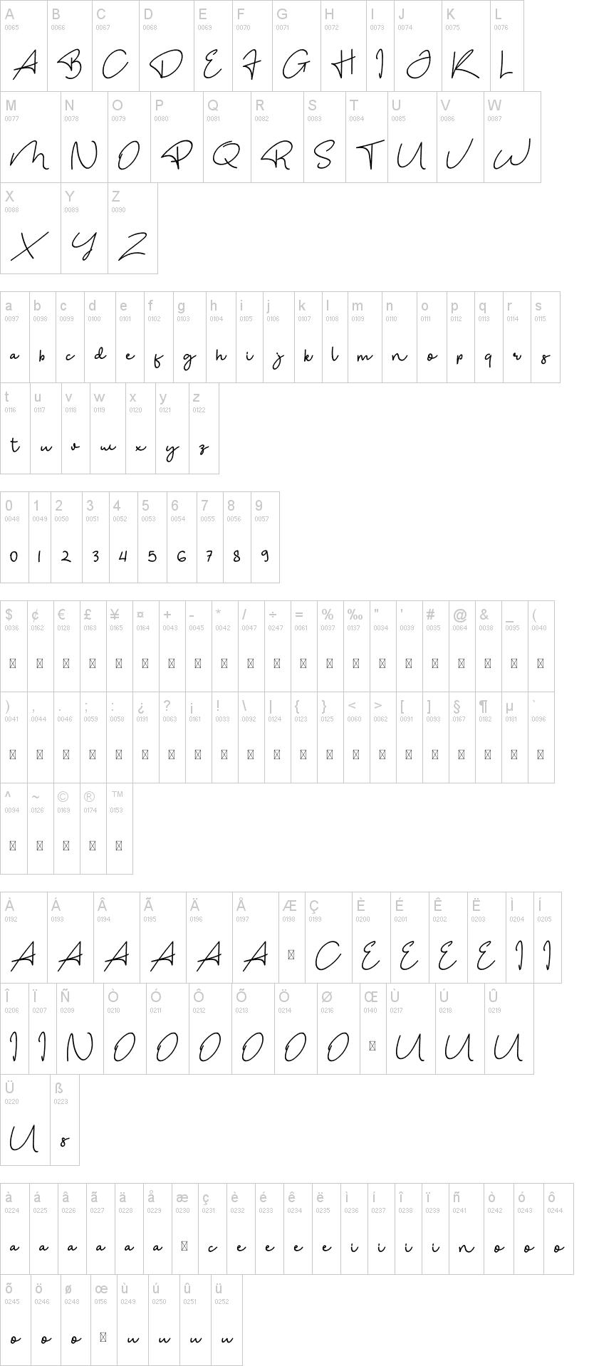 The Bohemian Font-1