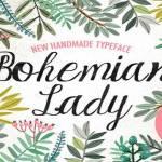 The Bohemian Font