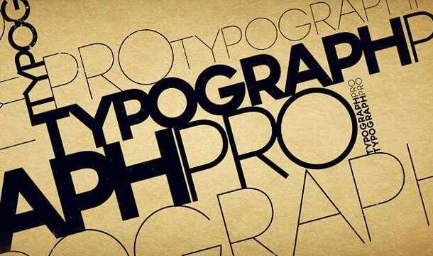 Typograph Pro Font Family