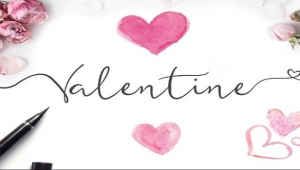 Valentine Love Font