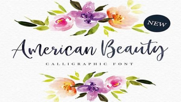 American Beauty Font