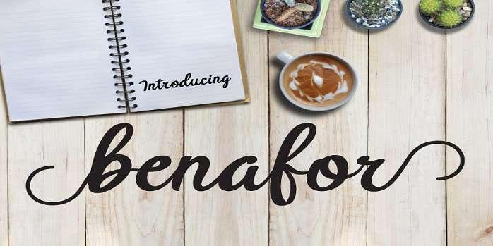 BTX Benafor Font