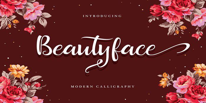 Beautyface Font
