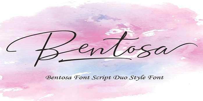 Bentosa Font