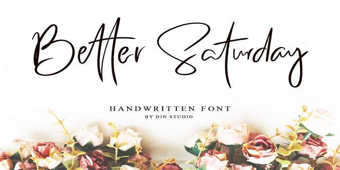 Better Saturday Font