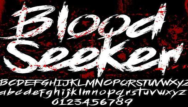 Blood Seeker Font