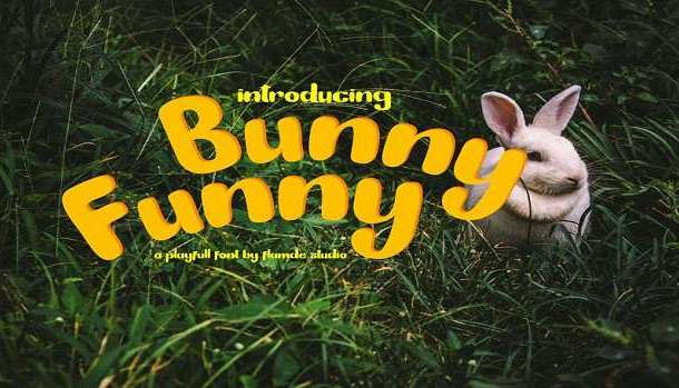 Bunny Funny Font