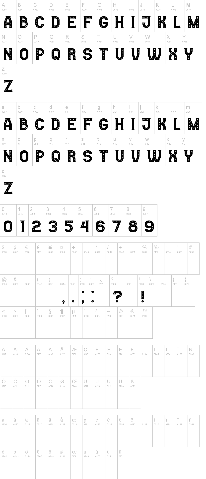 Casino Font Family-1