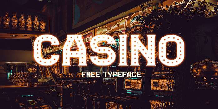 Download Casino Hand Font