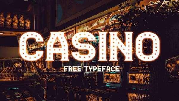 Casino Font Family