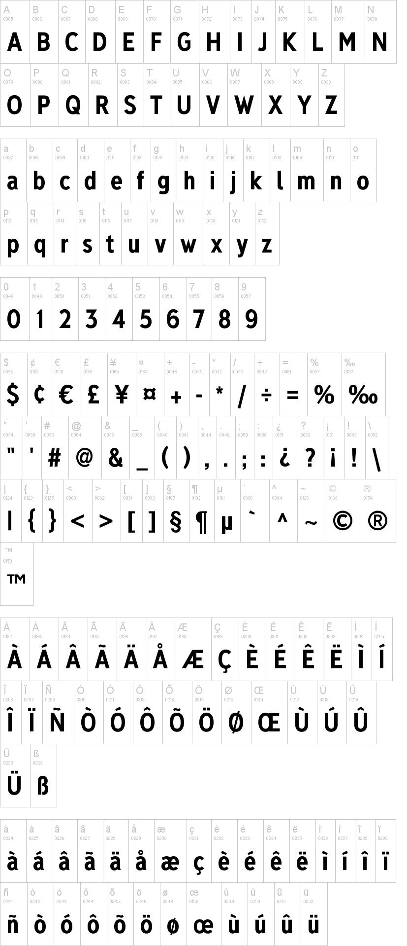 Deansgate Font-1