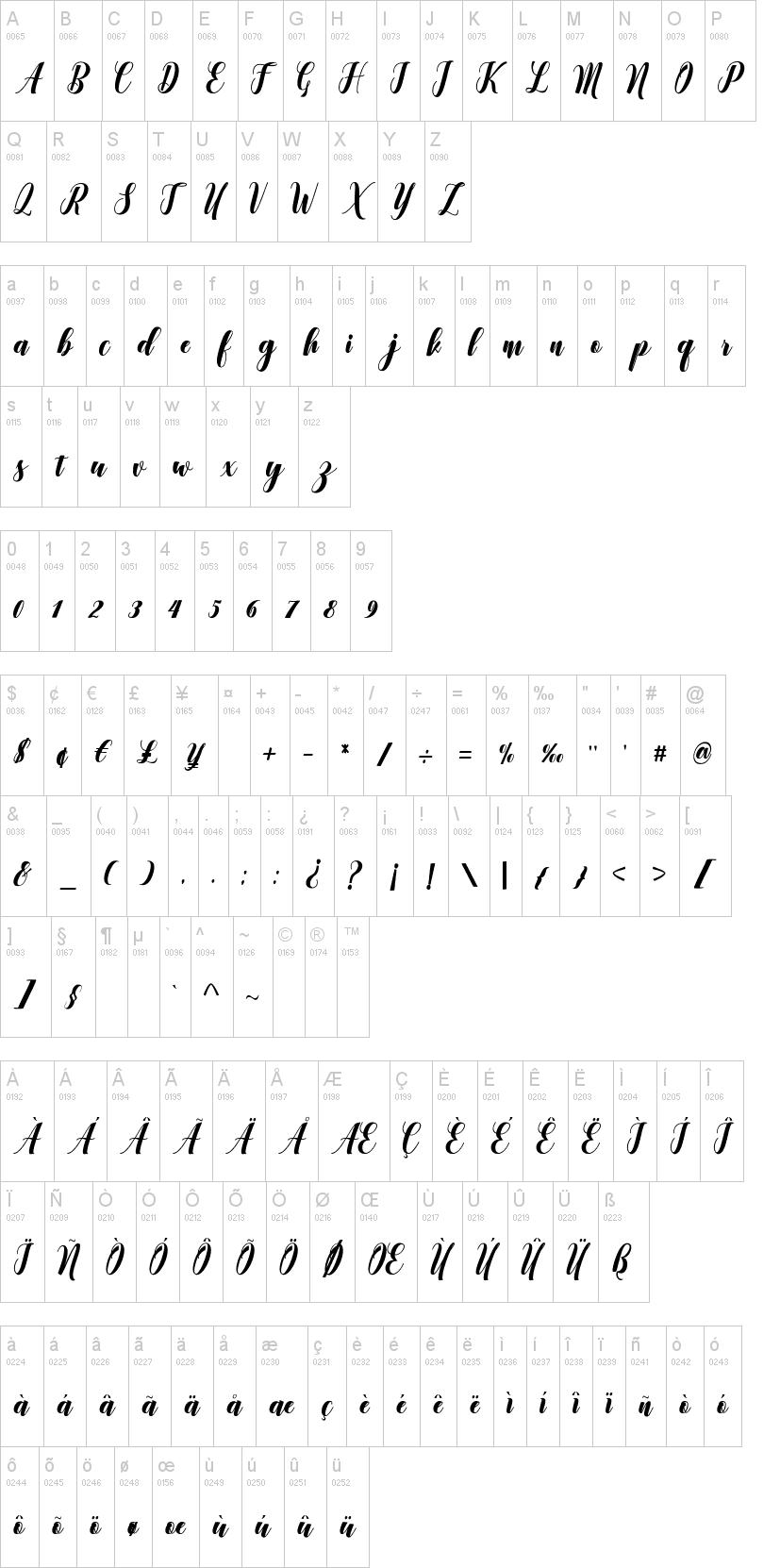 Denmahis Font-1