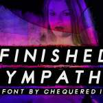 Finished Sympathy Font