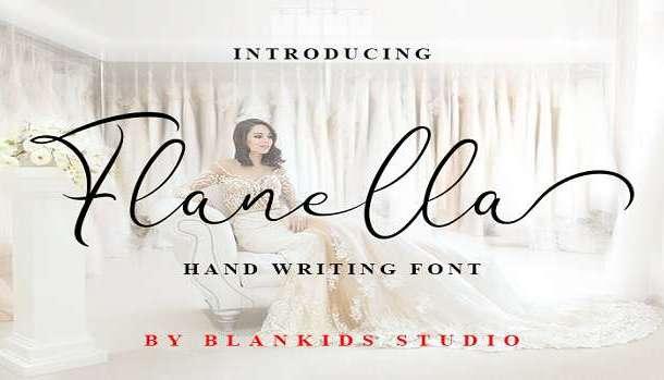 Flanella Font