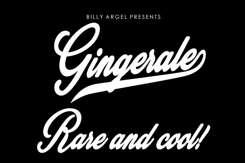Gingerale Font