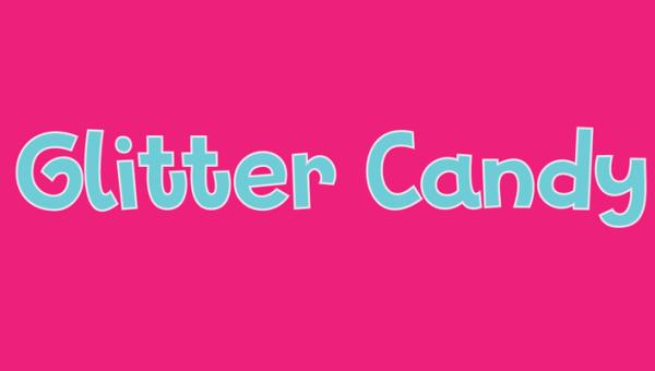 Glitter Candy Font