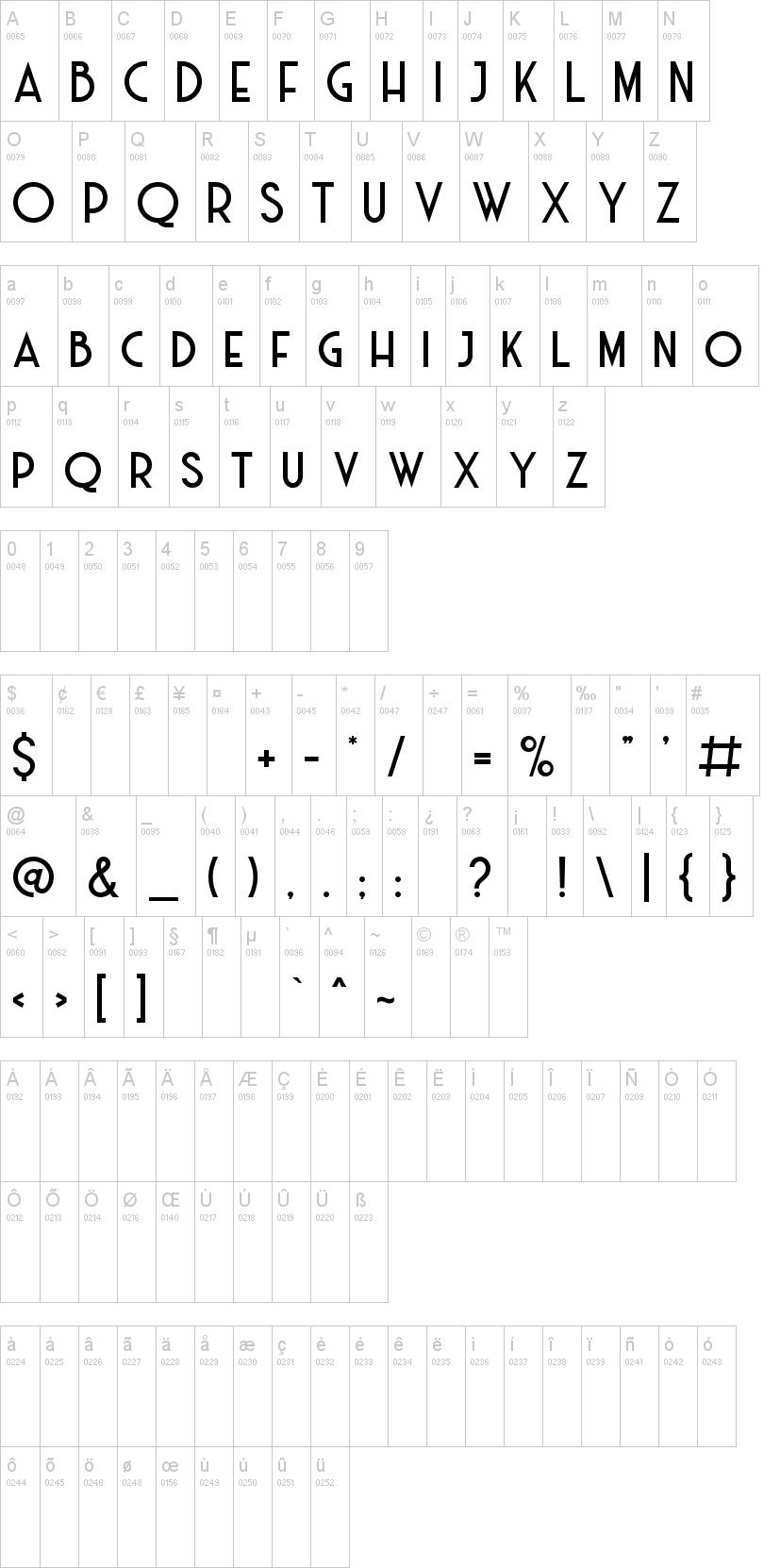 Haarlem Deco Font-1