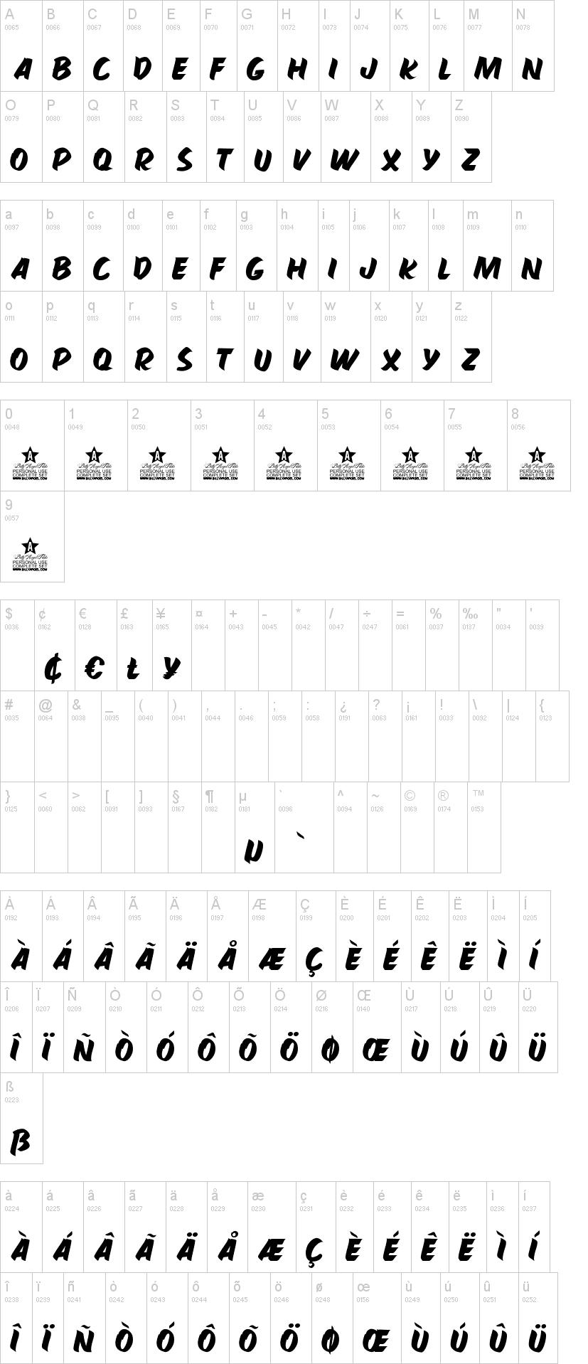 Hamburguer Font-1