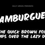 Hamburguer Font