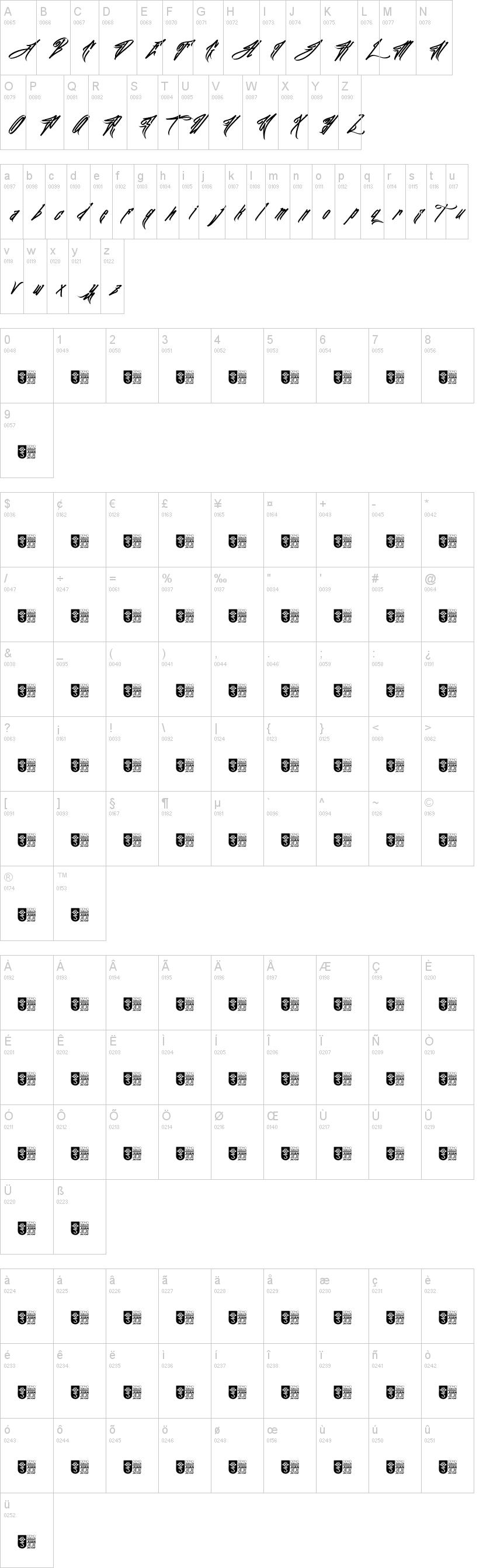 JFK Wall Hunter Font-1