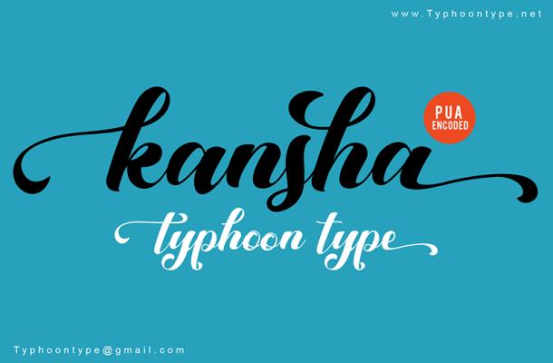 Kansha Font