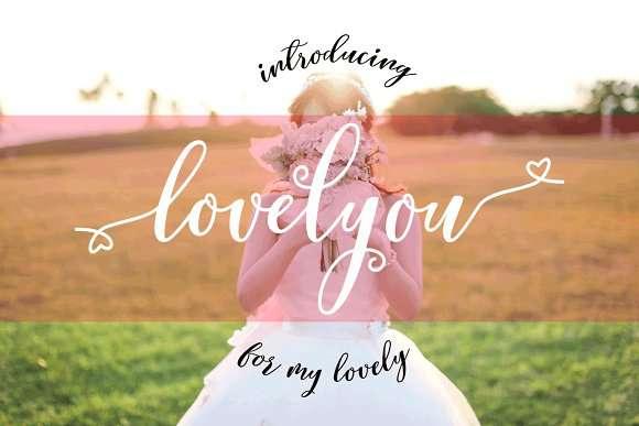 Lovelyou Font