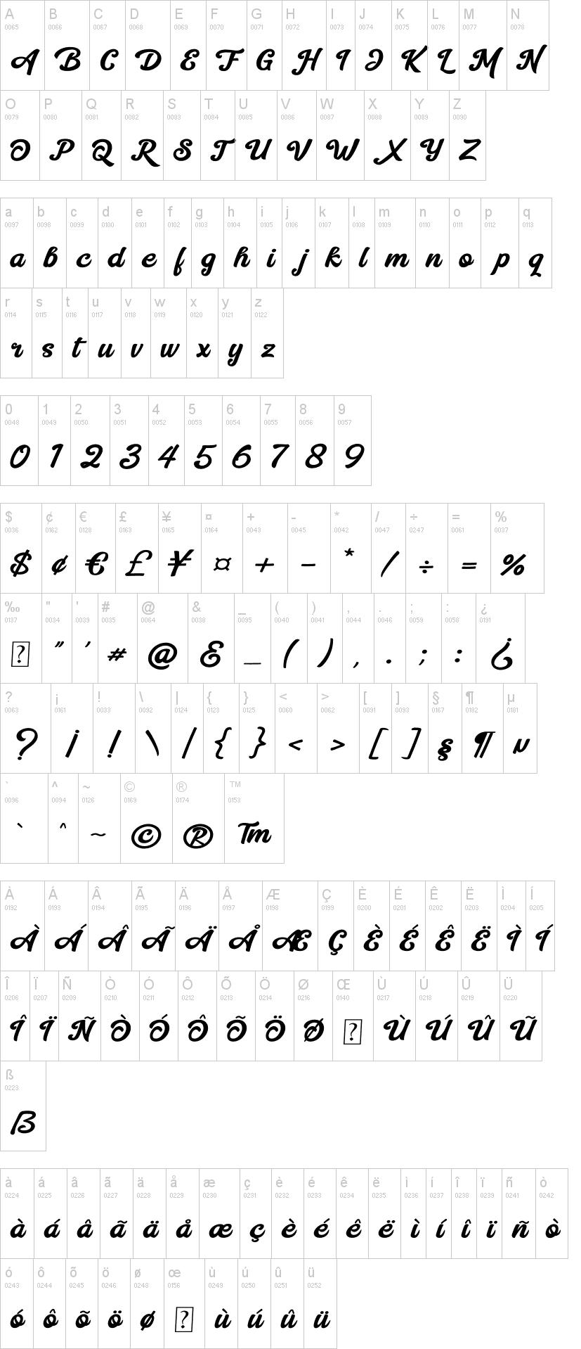 Mentega Font-1