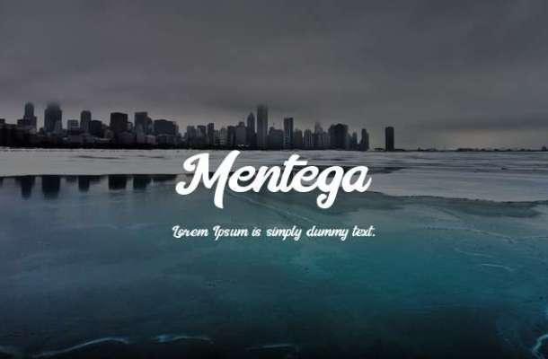 Mentega Font