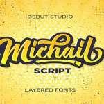 Michail Script Font