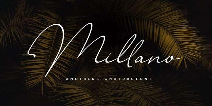 Millano Font