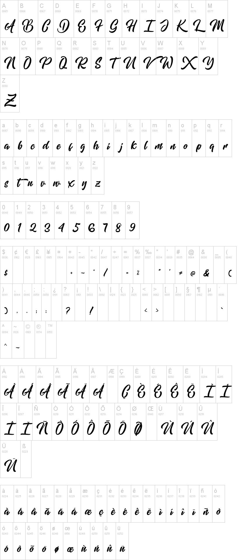 Mishaland Font-1