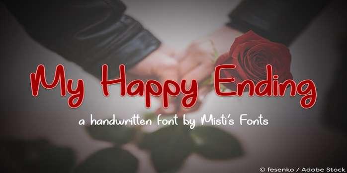 My Happy Ending Font