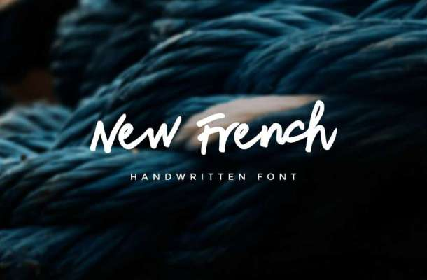 New French Font