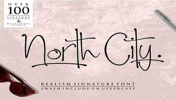 North City Font
