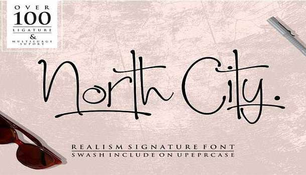 North City Font