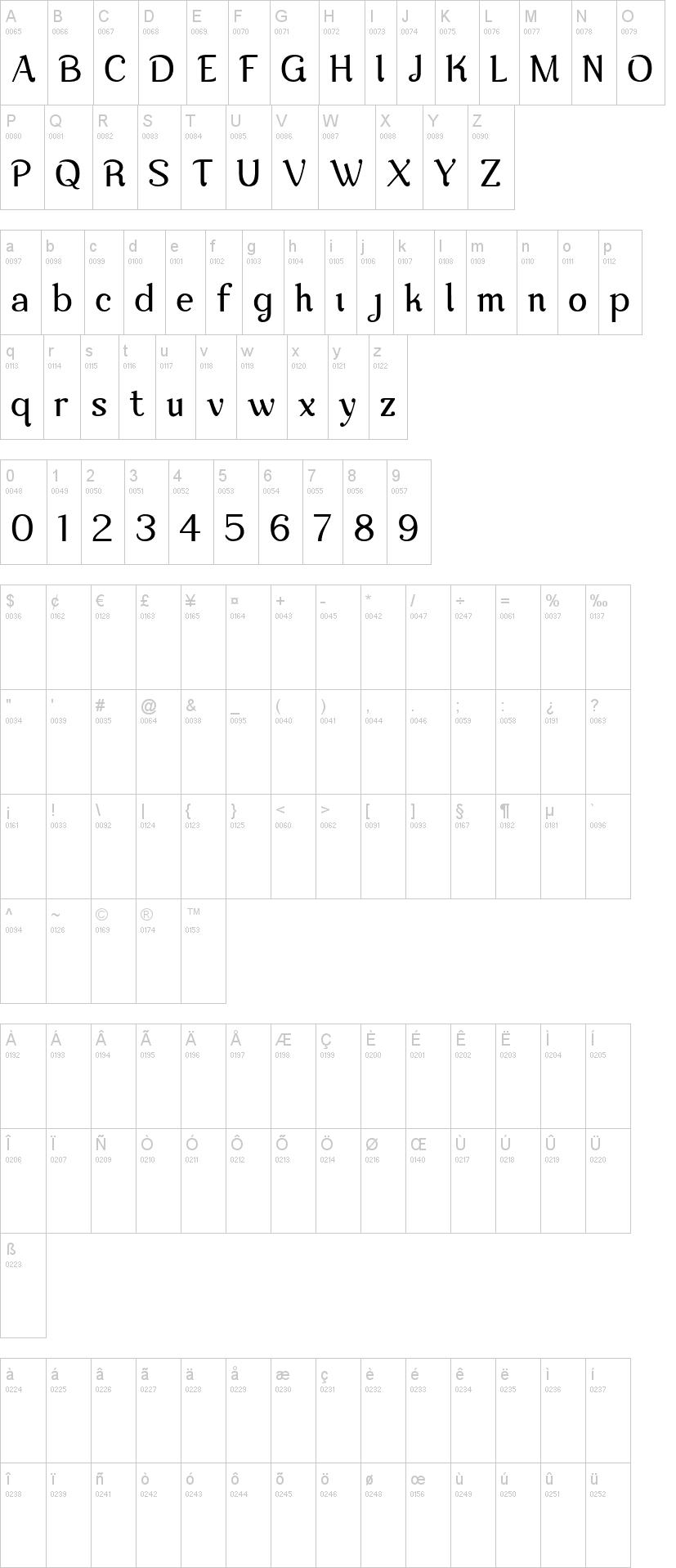 Nova Classic Font-1