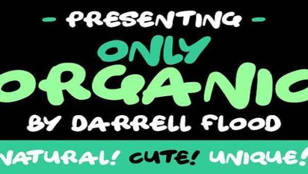 Only Organic Font Family
