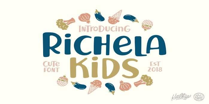 Richela Kids Font