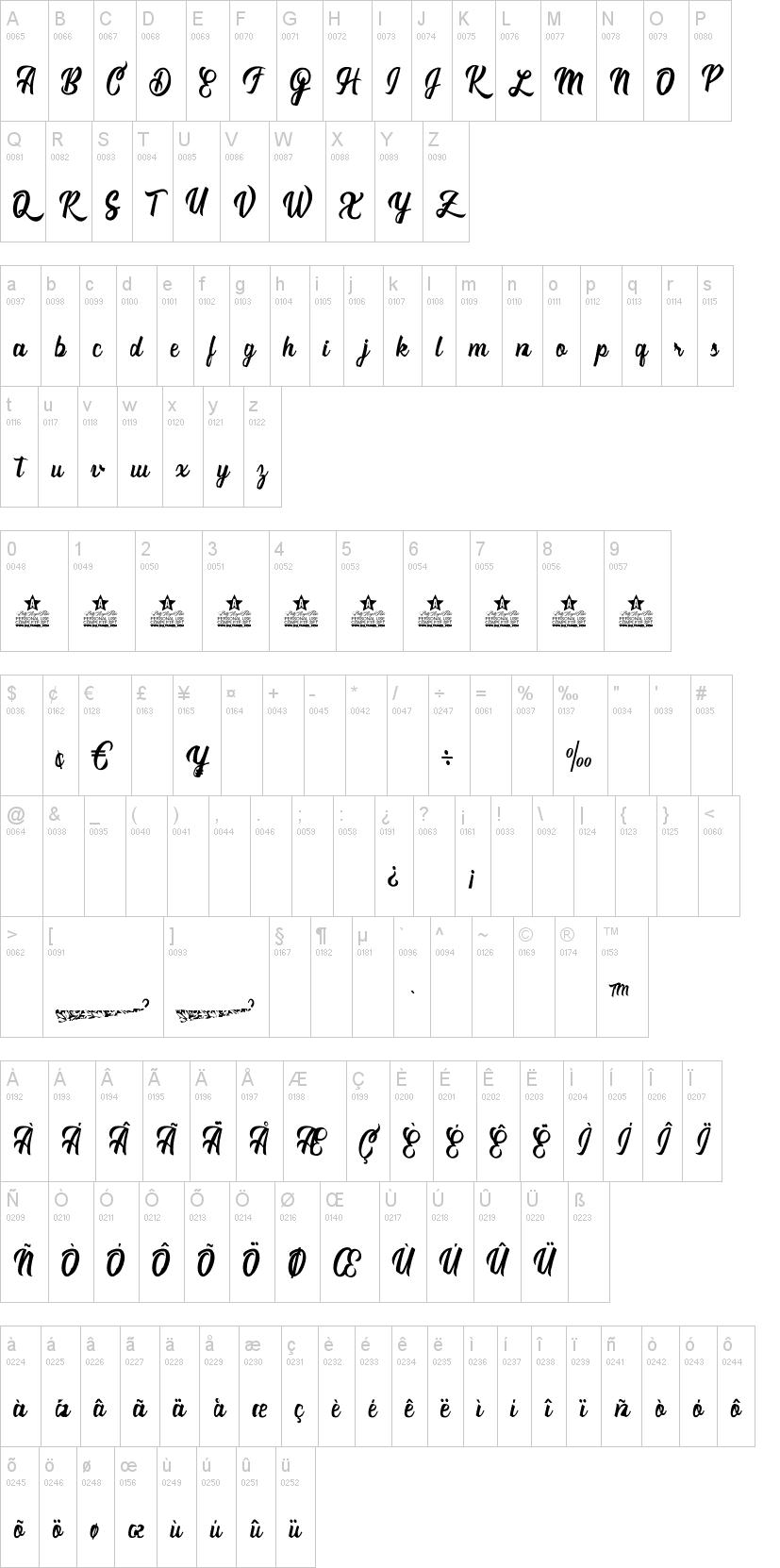 Romantica Font-1