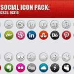 Social Media Font