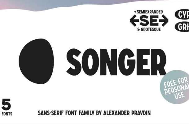 Songer Font Family