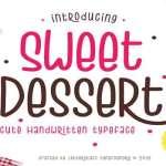 Sweet Dessert Font