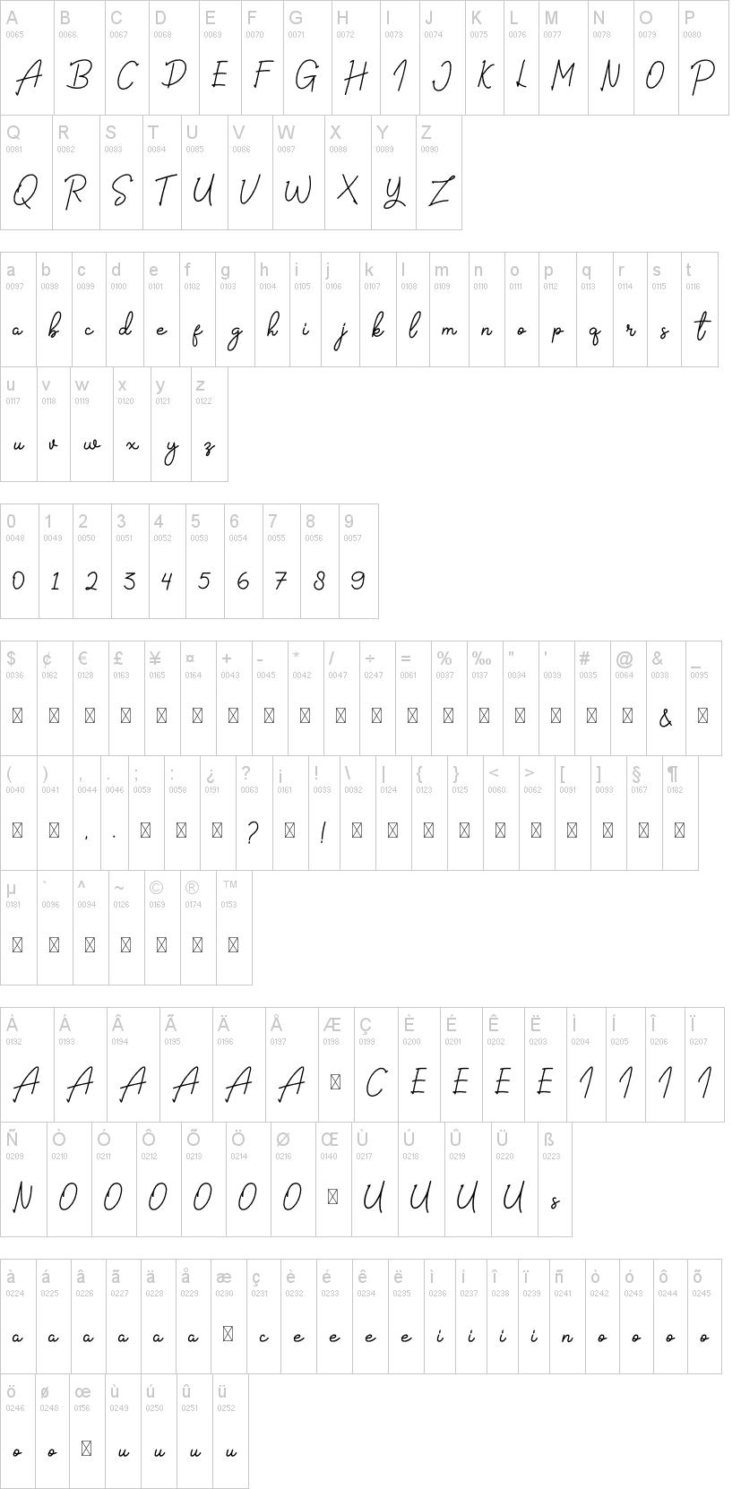 The Signate Font-1
