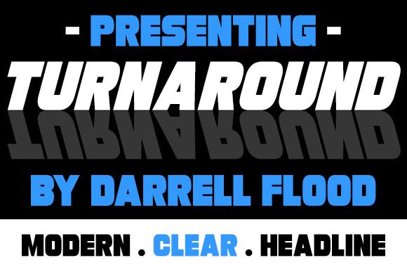 Turnaround Font Family