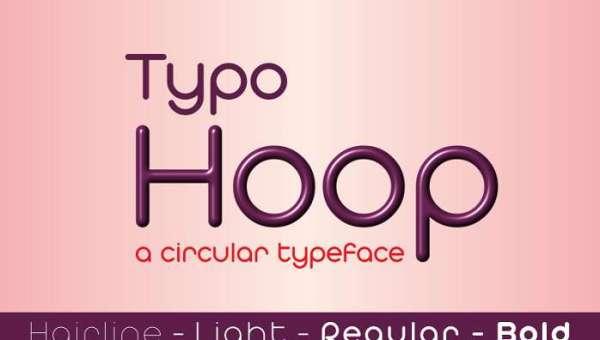 Typo Hoop Font