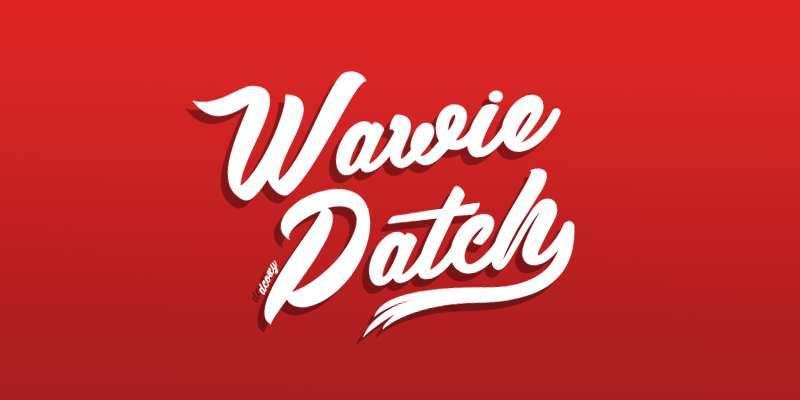 Wawie Patch Font